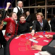 staff immerse themselves in the world of the worlds most famous secret agent with a   Casino Royale theme